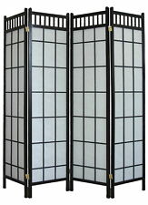 4 Panel Traditional Japanese Shoji Screen /Room Divider