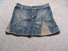 Only  Damen  Jeans Mini  Rock Gr :36