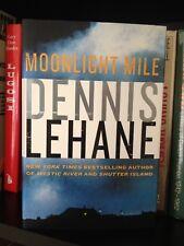 Dennis Lehane Signed Moonlight Mile 1st Ed. HC Sequel To Gone Baby Gone