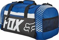 NEW Fox Racing MX Motocross Carry On Travel Essentials 180 Duffle Bag - Blue