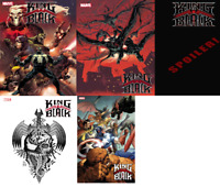 KING IN BLACK #1 ALL 5 COVERS LOT MARVEL COMICS PRESELL VENOM KNULL 12/2/20