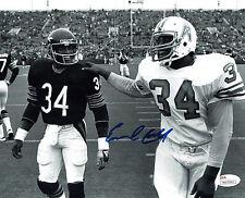 Earl Campbell Autographed Houston Oilers 8X10 Football Photo #3, JSA