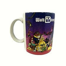 Vintage Walt Disney World Coffee Mug Cup Epcot Magic Kingdom MGM 1990