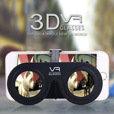 New Plastic Pocket Mini 3D Virtual Reality VR Goggles Glasses Foldable Portable