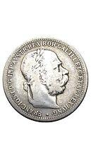 Hongrie 1 Corona François Joseph 1895 argent
