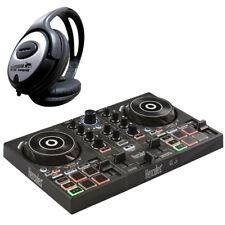 Hercules DJControl Inpulse 200 2-Deck USB DJ Controller + Keepdrum Kopfhörer