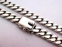 """925 Sterling Silver Curb Chain Necklace. 91 grams,  45 cm, 18"""""""