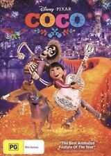 COCO DVD DISNEY PIXAR NEW & SEALED- FREE POSTAGE! REGION 4