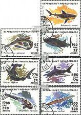 Madagaskar 1527-1533 (kompl.Ausg.) gestempelt 1993 Haie