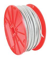 Baron  Galvanized Steel  Cable  .125 in. Dia. x 500 ft. L