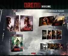 DREDD Judge Dredd - 2D 3D LENTICULAR slip Bluray Steelbook Nova Media Novamedia