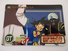 Carte DRAGON BALL GT Carddass Hondan DP GT Part 26 N°16 - BANDAI 1996 Jap