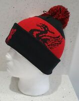 Liverpool Official Brand 47 Range Bobble Hat - Black and Red - Kids