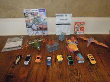 Matchbox Mega Rig Terrordactyl trap & Dino Soar plane w/8 Matchbox vehicles