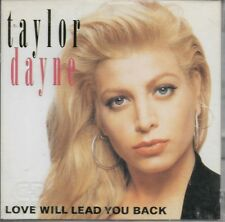 "Taylor Dayne - Love Will Lead You Back + 1 - Rare Japan 3"" CD Arista A10D-149"