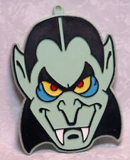 Hallmark Vintage Plastic Painted Cookie Cutter - Count Dracula Halloween Scary