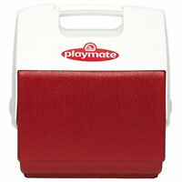 Igloo Playmate Pal 7 Quart Personal Sized Cooler (Red/White, 11.75 x 8.25 x