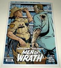 MEN OF WRATH # 4  Marvel Icon Comic  2015  NM    1:20 VARIANT COVER EDITION