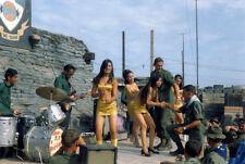Vietnam War U.S. Troops Entertained By South Vietnamese High Gloss 8.5x11 Photo