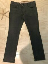 $44.50 Hugo Boss Men's Orange Gray Cotton Slim Fit  Jeans Pants Size 38/32