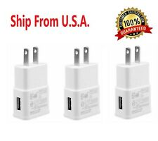 3-Pack 2AMP USB POWER ADAPTER WALL CHARGER For Universal SAMSUNG LG iPHONE