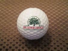 Logo Golf Ball-Hunters Ridge Golf & Country Club.Florida.