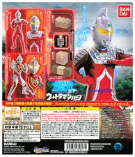 Bandai Ultraman Luminous Figure Gashapon 9 LED Ultraseven Gaia set 4 pcs