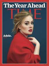 TIME Magazine,ADELE,Stephen Curry,Jeh Johnson,Satya Nadella,Riccardo Tisci NEW