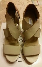 Steve Madden Edita Natural Sandals for womens size 8.5. Retail $ 69.90