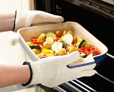 Heat Proof Resistant Anti Burn Gloves BBQ Oven Kitchen Magic High Baking Flame