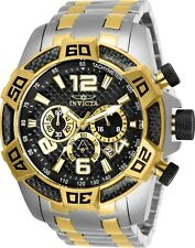 Invicta Men's 25856 Pro Diver Scuba Gold-Tone and Silver Stainless Steel Watch