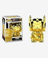 GOLD CHROME THOR, FUNKO POP, MARVEL STUDIOS, THE FIRST 10 YEARS, #381