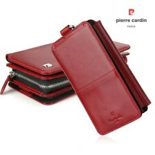 PIERRE CARDIN 2-in-1 Wallet Pouch Case Apple/Samsung--iPhone X/9/8/7 Plus/6s