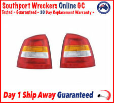 Genuine Holden TS Astra Hatch 4DR Rear Tail Lights Lens Cover Complete Unit Pair