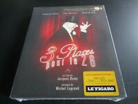 "COF BLU-RAY + DVD NEUF ""3 TROIS PLACES POUR LE 26"" Yves MONTAND, Mathilda MAY"