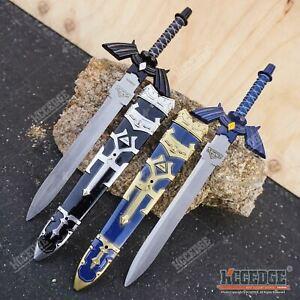 """11.5"""" LEGEND OF ZELDA Dark Link MASTER SWORD Short Hylian Cosplay Replica"""