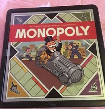 Monopoly Retro Board Game Parker Brothers 2008 Hasbro plastic box