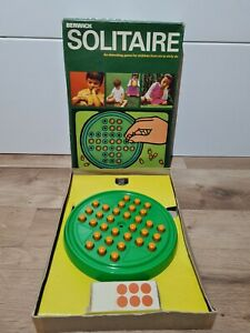 Vintage Berwick Solitaire Game No. 434 & Spare Peg x4