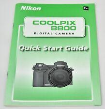 Guía de inicio rápido de Nikon Coolpix 8800