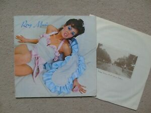 Roxy Music Self-titled 1972 US Reprise LP 1st Issue