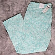 Chicos Womens Pants Tona Lacey Haddie Slim Sz 1 New A4