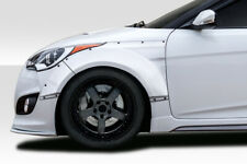 12-17 Fits Hyundai Veloster Envision Duraflex Front Fender Flares!!! 114305