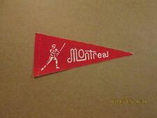 MLB Montreal Expos Vintage 1969-70 Mini Logo Pennant