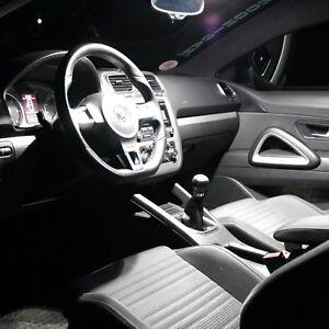 VW Golf 7 VII Interior Lights Set Package Kit 10 Lighting LED SMD white 1723