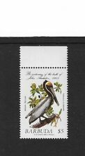 1985 Barbuda - Brown Pelican - Single Stamp - Mint and Never Hinged.
