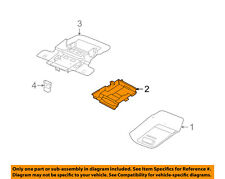 FORD OEM Overhead Roof Console-Module 5W7Z19A333A