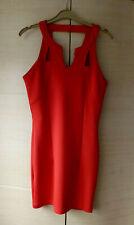BNWT, SHORT, BRIGHT RED, SLEEVELESS, MINI DRESS BY MISSGUIDED - UK 10