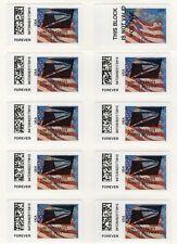 APC/CVP/ATM - Sheet of USPS Eagle Overprint ERRORS on Flag stamp (new machine!)