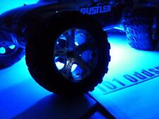 Blue 3.7V- 9V Rustler Bandit Universal 1/10 RC LED Strip Plug & Play 4 Receiver