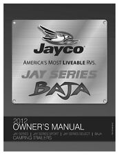 Jayco Fold-Down Pop-Up Tent Trailer Owners Manual- 2012 Jay Sport Select Baja
